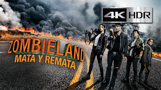 Zombieland: Mata y remata (2019) 4K UHD [HDR] Latino-Castellano-Ingles