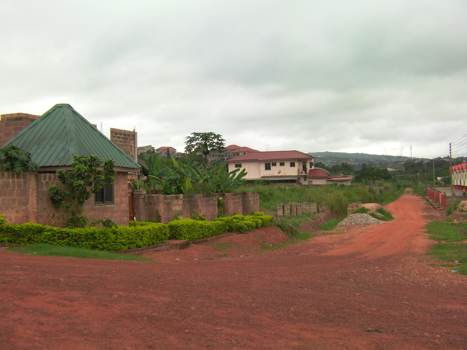 the roof above my head: Hello from Pokuase, Ghana