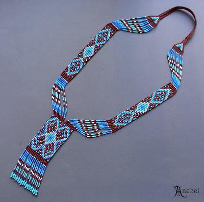 колье этническое купить купить украшение из бисера на шею