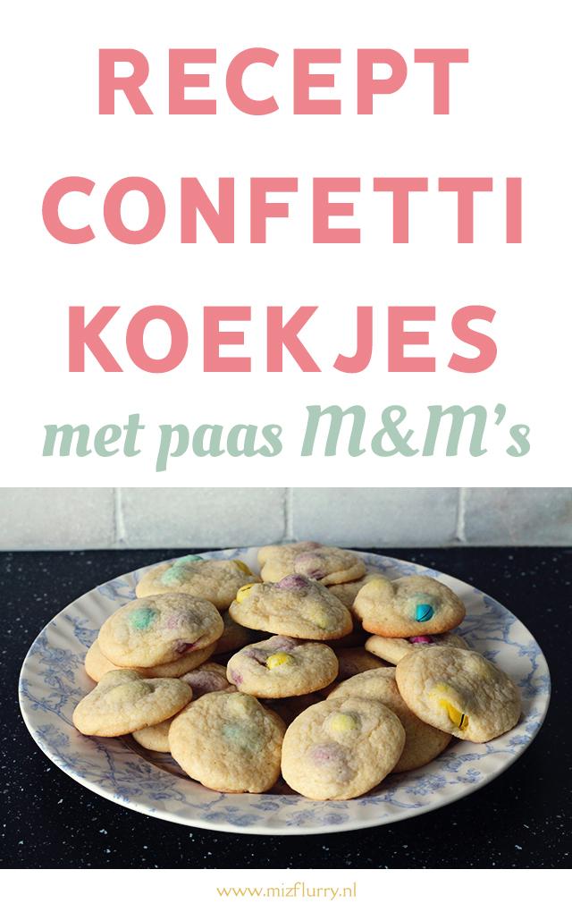 confetti koekjes recept pinterest
