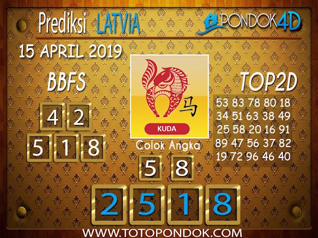 Prediksi Togel LATVIA PONDOK4D 15 APRIL 2019