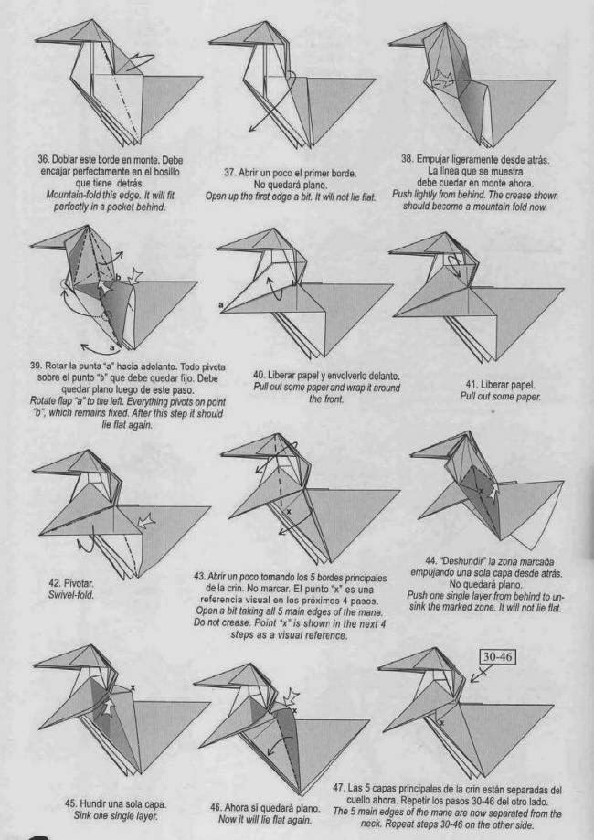 2 Pikachu Origami Diagrams - Paper Kawaii | 919x650