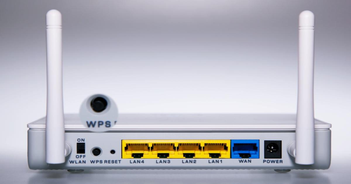 كيفية تشغيل wps في الراوتر te data