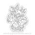 Goku Utra Instinct - Dragon Ball para Colorir