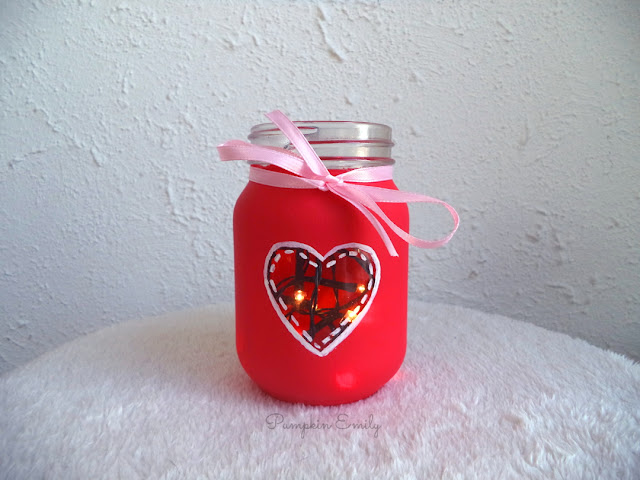 DIY Heart Jar for Valentine's Day | DIY Valentine's Day Room Decor