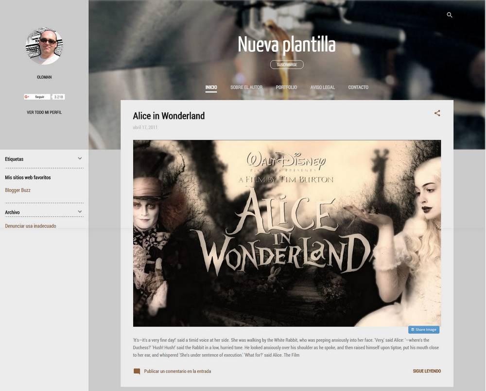 Nuevas plantillas adaptables de Blogger | Oloblogger