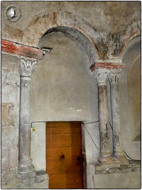SAINT-MAURICE-DE-GOURDANS (01) - Eglise Saint-Maurice (XIIe-XVIe siècles) (Intérieur)