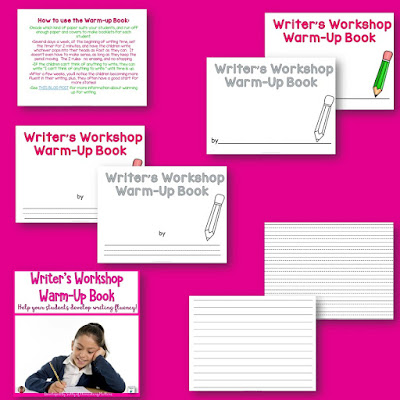 Writing Warm Up: When my students were struggling with writing fluency, I came up with this freebie.