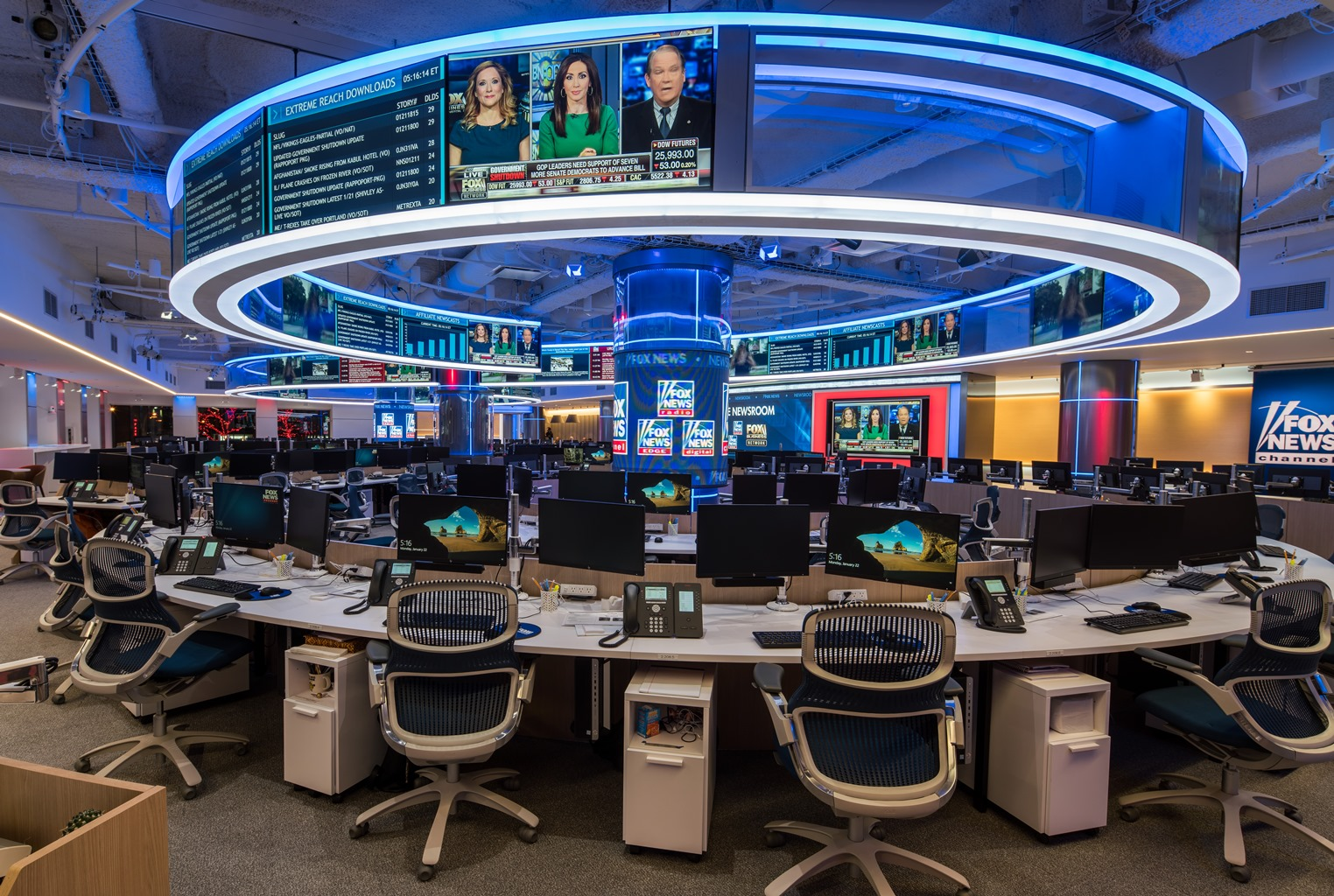 Harman Kardon Car Audio: TV With Thinus: Fox News Channel Unveils Its Brand-new