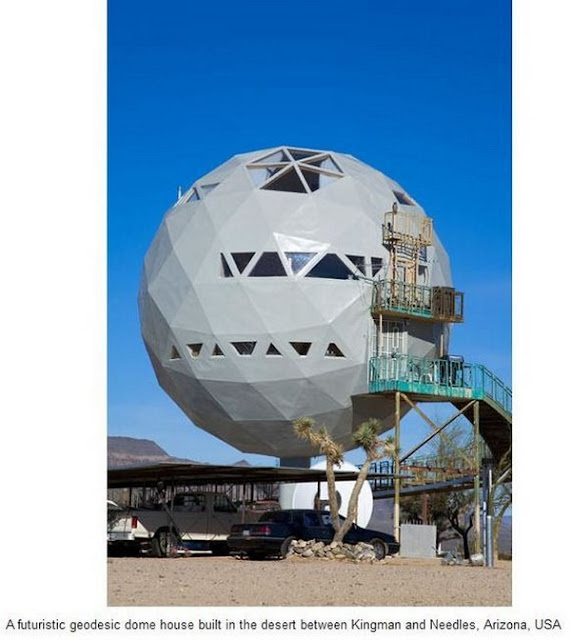 Dome House Futuristic: Funny Universe: 20 Unusual Houses Around The World