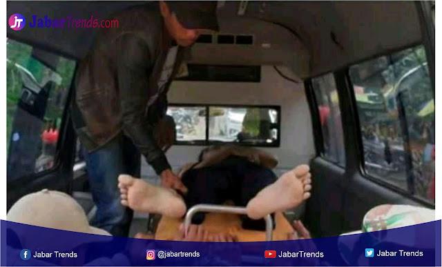 dua orang asal bandung terjatuh dan tenggelam di sungai Leuwi Curug Rahong Cisewu