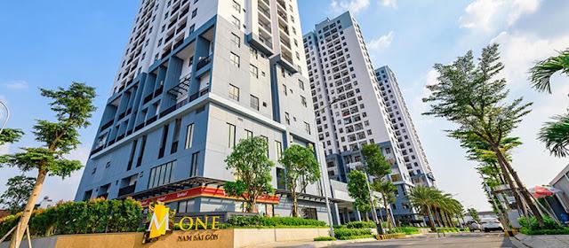 Căn hộ M-one Nam Sài Gòn có thiết kế hiện đại bởi đội ngũ kiến trúc sư tài hoa.