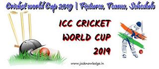 Cricket World Cup 2019 | Schedule Fixtures Teams Venues