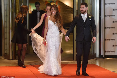 Photos from Lionel Messi's wedding to his childhood sweetheart, Antonella Roccuzzo