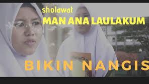 Lirik Teks Shalawat Man Ana Versi Arab, Latin dan Artinya - Habib Syech