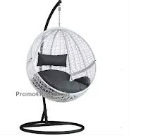 Logo TecTake : Vinci gratis poltrona sospesa in polyrattan con piedistallo (€444,39)