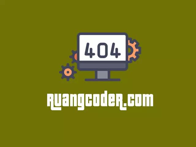 Membuat Halaman Error 404 Dengan CSS dan JS