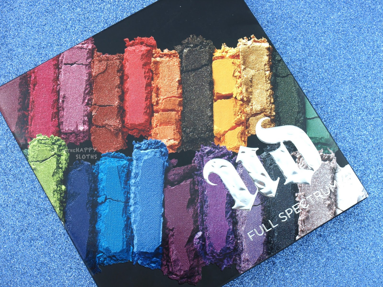 Urban Decay Full Spectrum Eyeshadow Palette Review and Swatches
