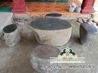Meja Kursi Batu Kali