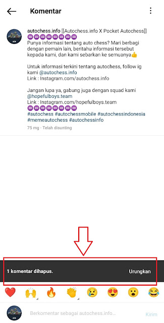 Cara Menghapus Komentar Instagram di Postingan Sendiri atau Orang Lain