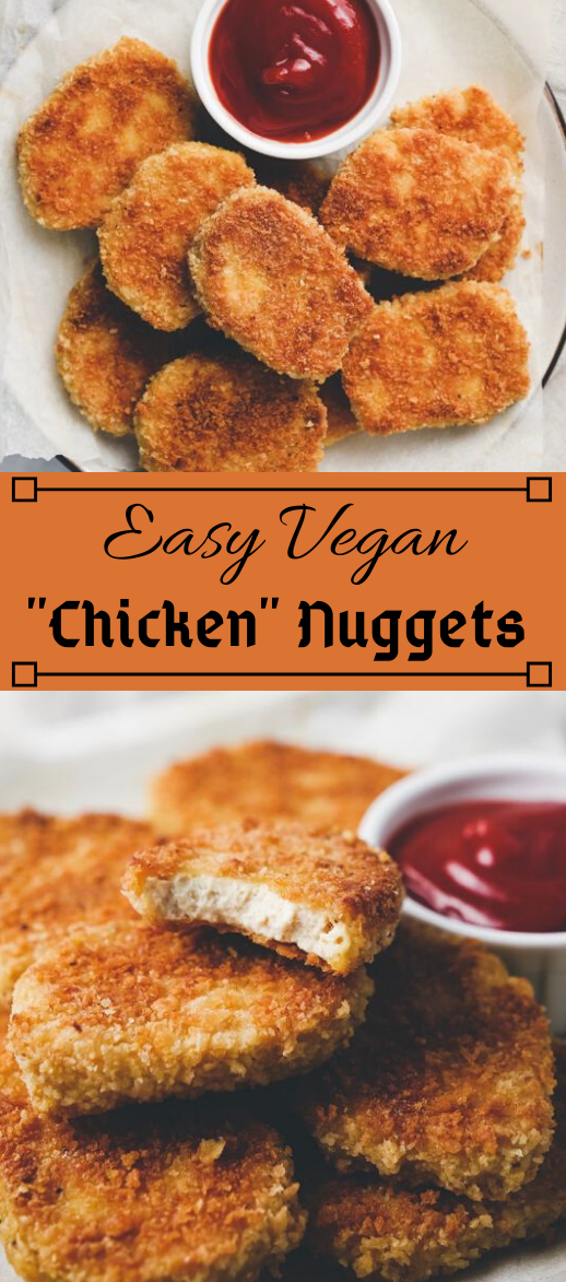 Vegan Chicken Nuggets #vegetarian #vegan #easy #glutenfree #chicken