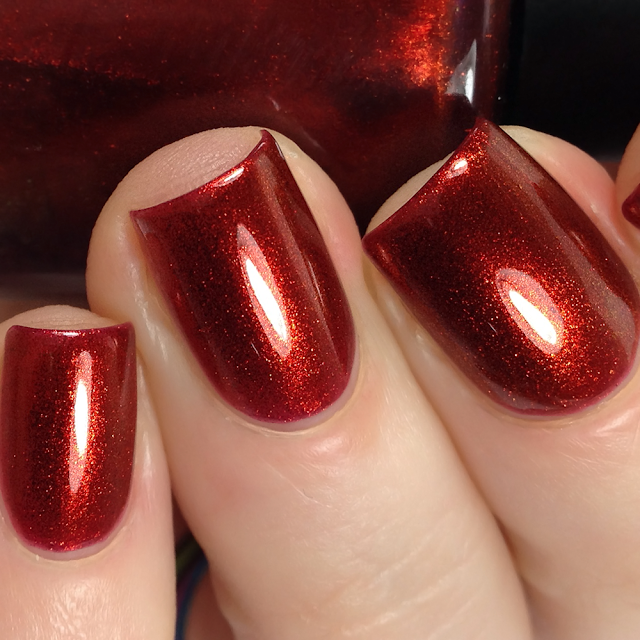 Ethereal Lacquer-Blood Orange