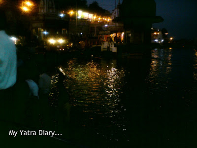 Sight of The Har Ki Pauri Ghat in Haridwar
