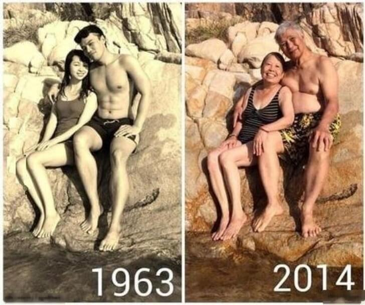 25 Heart-Melting Pictures That Made Even The Toughest Of Us Cry - True love lives forever.