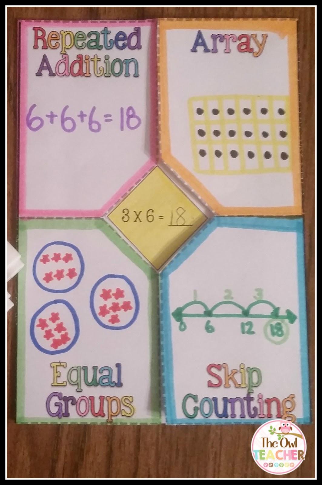 Multiplication Freebies