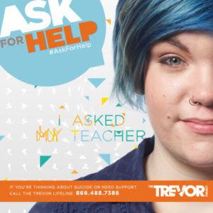 Trevor Project Suicide Prevention Hotline 866.488.7386