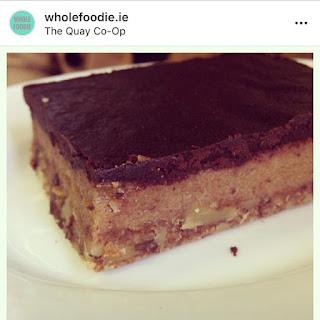 Quay Coop Restaurant vegan caramel slice