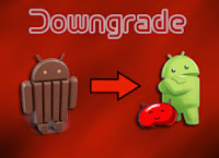 cara downgrade kitkat to jelly bean wd-kira