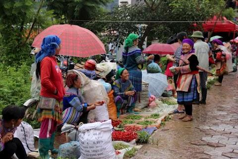 Les marchés au Nord du Vietnam