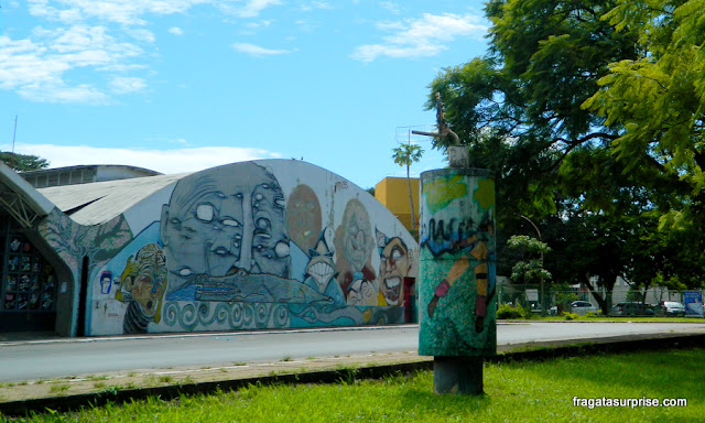 Espaço Cultural Renato Russo, na 508 Sul, Brasília