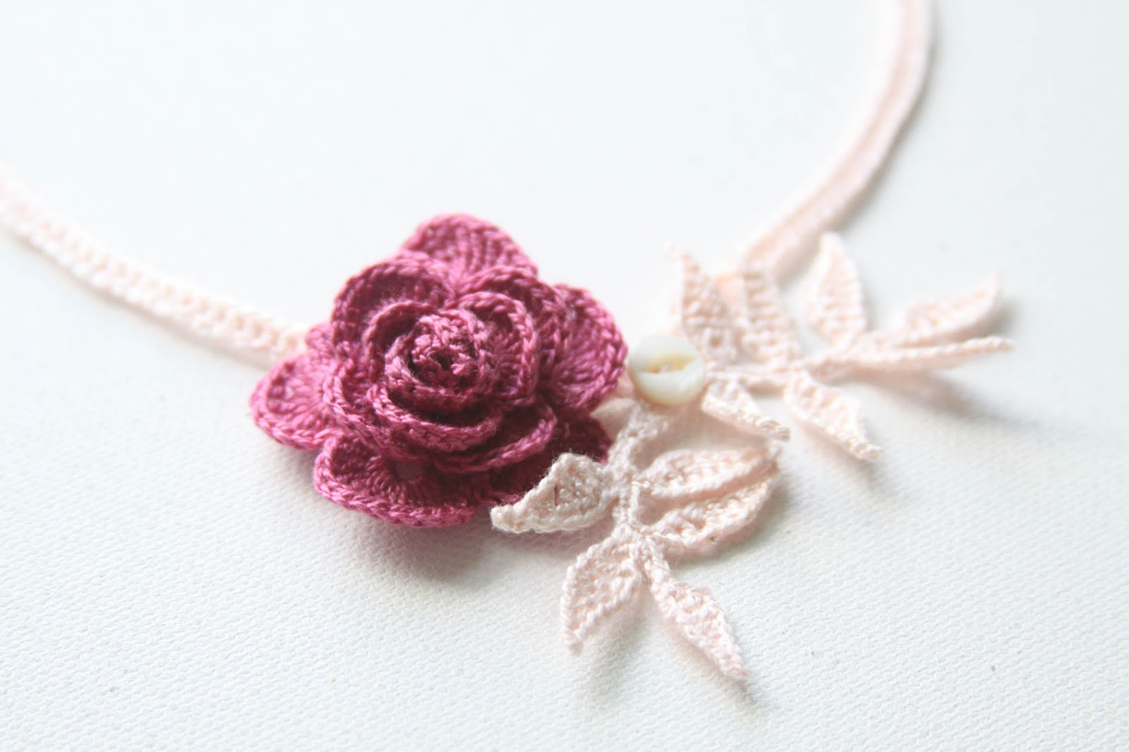 my crocheted rose pattern, a gift for you