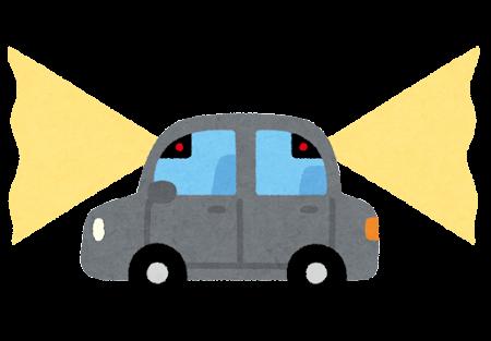 ドライブレコーダーのイラスト(横)