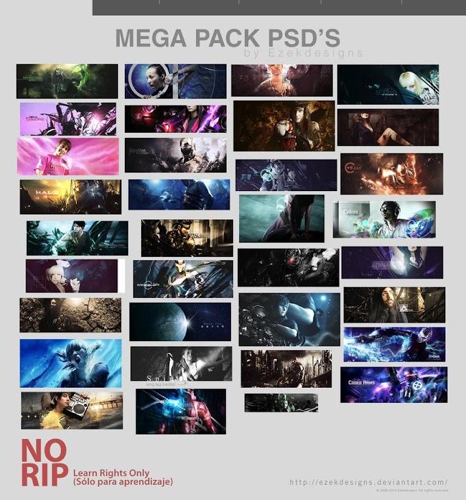 MegaPack Psd's LRO Free PSD