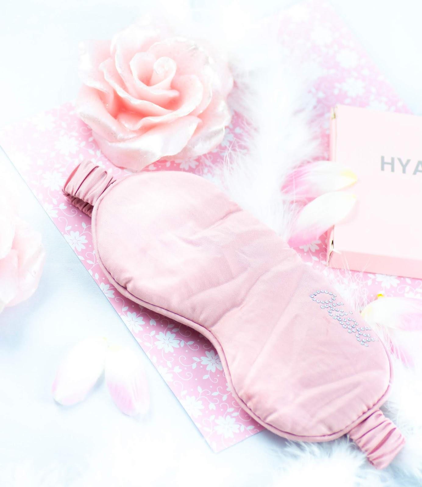 OkiOki Sleeping Factory... innowacyjna maska na oczy z kwasem hialuronowym, która nawilża podczas snu!
