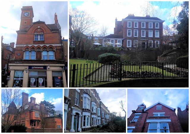 casas bonitas barrio Hampstead Londres