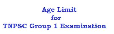 group one maximum minimum age limit