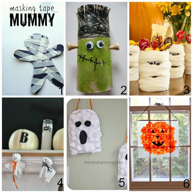 tutorial lavoretti halloween per bambini