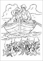אריאל בת הים הקטנה לצביעה