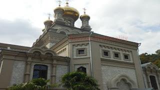 Temple of the Archangel Michael in Alupka