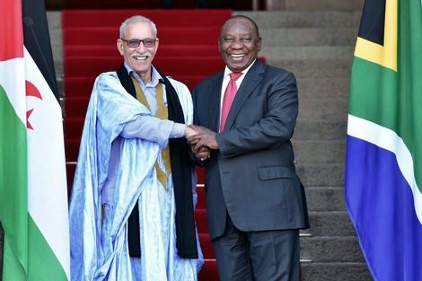"""جنوب إفريقيا: """"غادي ندافعو على فلسطين والصحرا وغادي نضغطو على المغرب"""""""