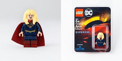 DC FanDome Exclusive Supergirl TV Series LEGO Mini Figure