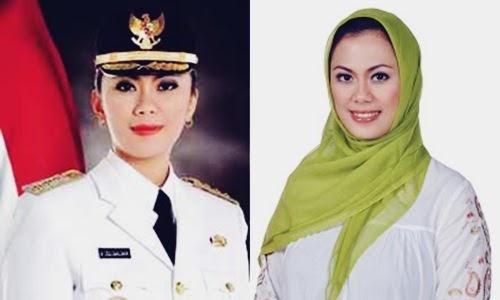Foto, Berita, Profil dan Info Biodata Cellica Nurrachadiana Si Mantan Aktris Jadi Bupati Karawang - www.heru.my.id