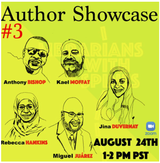 Librarians with Spines Author Showcase #3