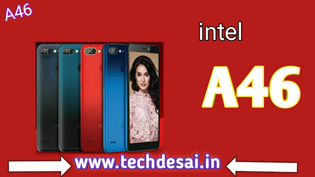 Intel A46 mobile phone lunch in India