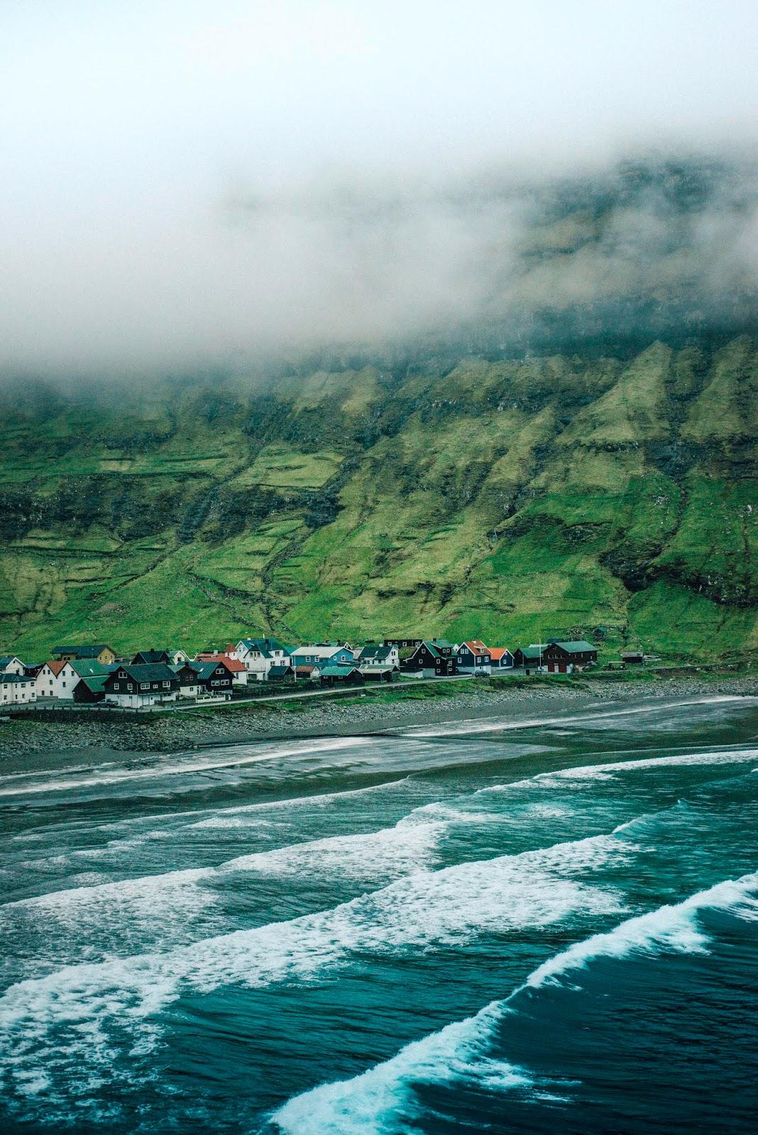 Tjørnuvík tjornuvik faroe islands eysturoy liquid grain liquidgrain