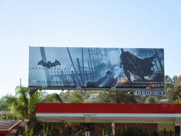Batman Arkham Origins billboard